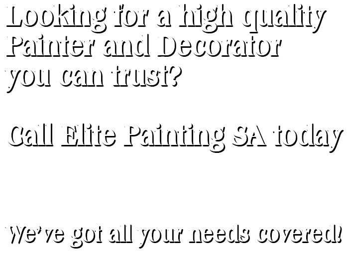 Elite Painting SA Call to Action