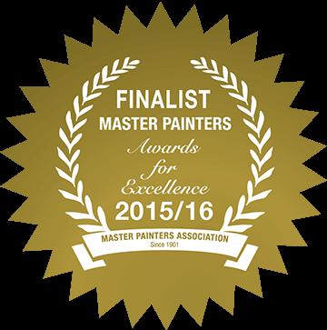 Finalist 2015-16 Master Painters SA - Elite Painting SA